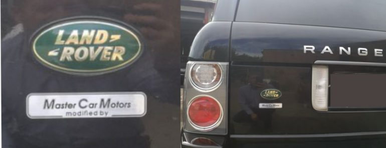 Кузовной ремонт Range Rover