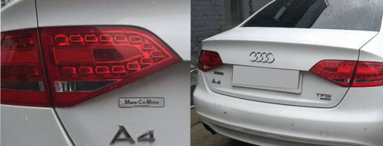 Кузовной ремонт Audi A4