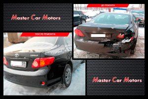Кузовной ремонт Toyota Corola